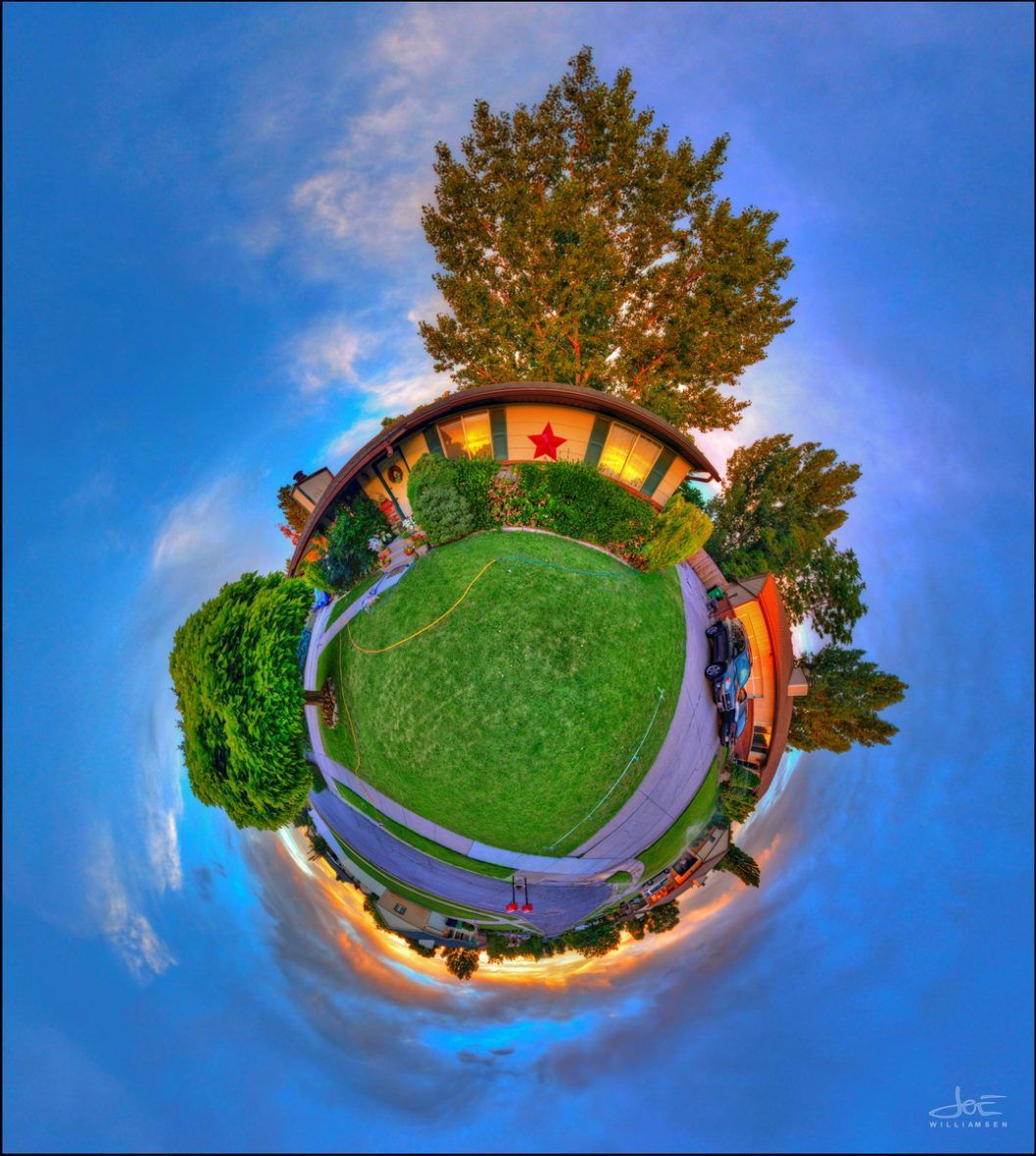 Little Planet Steve's House 23 jun 2013