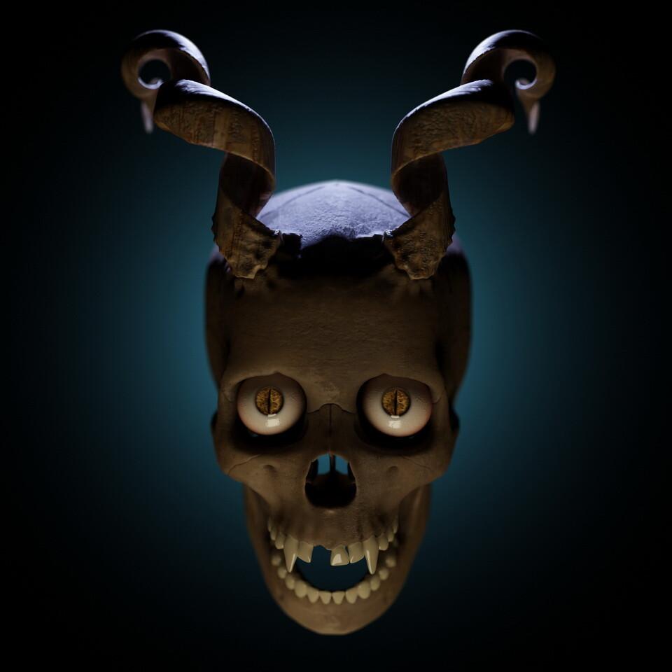 Crazy Horny Skull 3_resize